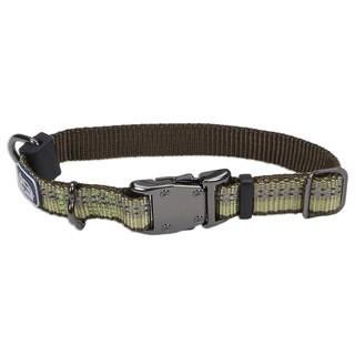Coastal K9 Explorer Green Reflective Adjustable Collar