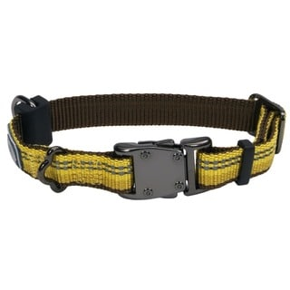 Coastal K9 Explorer Yellow Reflective Adjustable Collar
