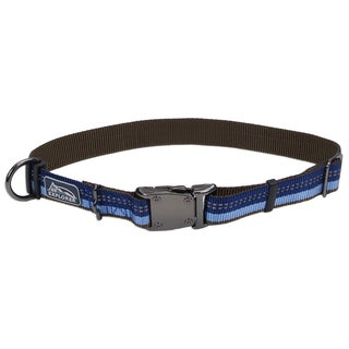 Coastal K9 Explorer Blue Reflective Adjustable Collar
