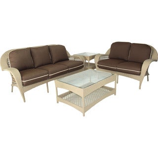 Somette Sierra 4-piece Outdoor Conversation Set