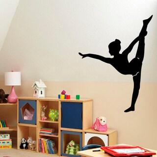 Gymnastics Inspirational Vinyl Sticker Wall Art