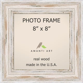Alexandria Whitewash Photo Frame 8x8' 11 x 11-inch