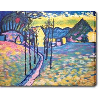 Wassily Kandinsky 'Landscape' Oil on Canvas Art
