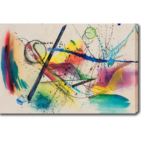 Wassily Kandinsky Abstract Oil On Canvas Art On Sale Overstock 10078443