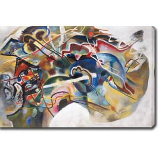 Shop Wasily Kandinsky Picture With An Archer Abstract Hand Painted
