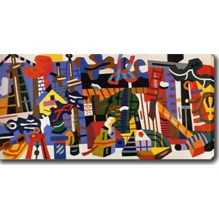 'Swing Landscape' Oil on Canvas Art