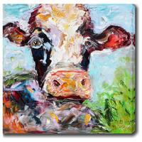 'Ox' Oil on Canvas Art