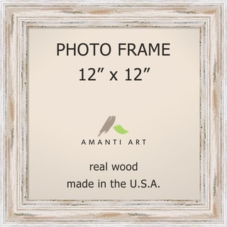 Alexandria Whitewash Photo Frame 12x12' 15 x 15-inch