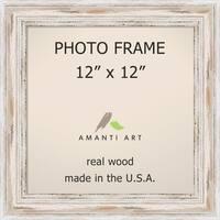 Alexandria Whitewash Photo Frame 12x12' 15 x 15-inch