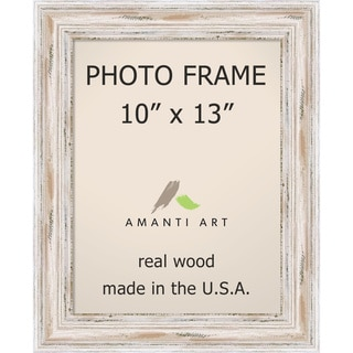 Alexandria Whitewash Photo Frame 10x13' 13 x 16-inch