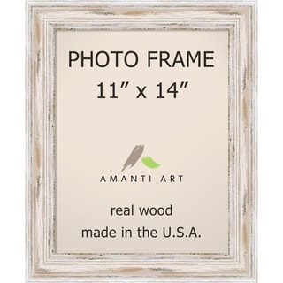Alexandria Whitewash Photo Frame 11x14' 14 x 17-inch