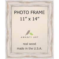 Alexandria Whitewash Photo Frame 11x14' 14 x 17-inch