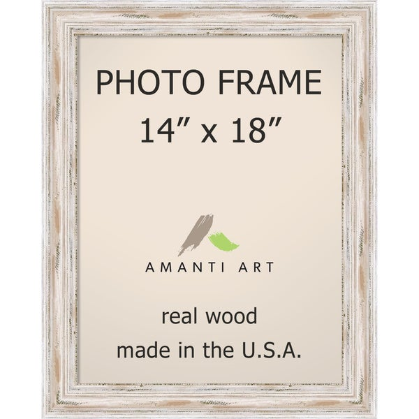 Alexandria Whitewash Photo Frame 14x18\' 17 x 21-inch - Free Shipping ...