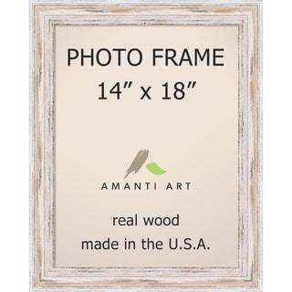 Alexandria Whitewash Photo Frame 14x18' 17 x 21-inch
