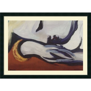 Pablo Picasso 'Dreaming' Framed Art Print