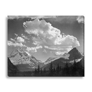 Gallery Direct Ansel Adams 'In Glacier National Park II' Gallery Wrapped Canvas