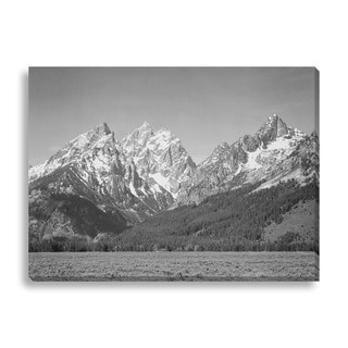 Gallery Direct Ansel Adams 'Grand Teton' Gallery Wrapped Canvas