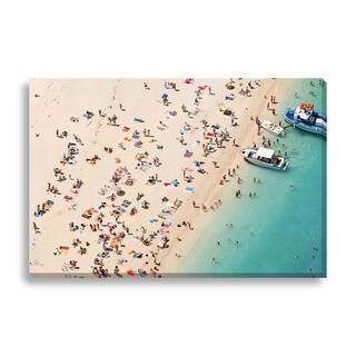 Gallery Direct Milan Markovic 'Aerial Beach' Gallery Wrapped Canvas