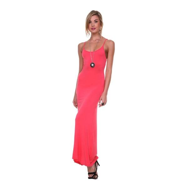 Stanzino Women's Soft Tank Maxi Dress