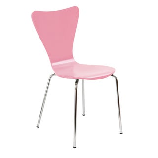 Link to Legare Furniture Pink Finish Bent Ply Chair Similar Items in Dining Room & Bar Furniture