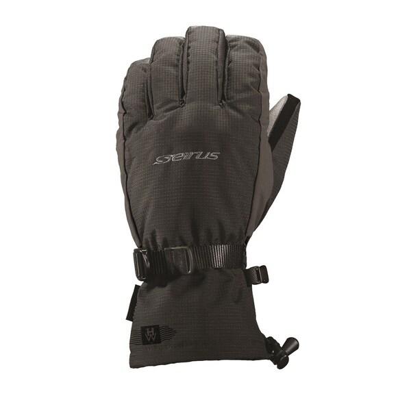 Seirus HWS Heatwave Accel Glove, Black/Charcoal
