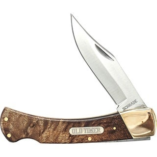 Old Timer Golden Bear Lockback Folding Knife