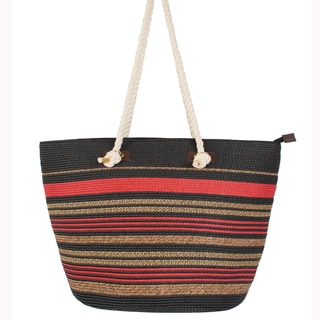 Pia Rossini 'Virginia' Straw Tote