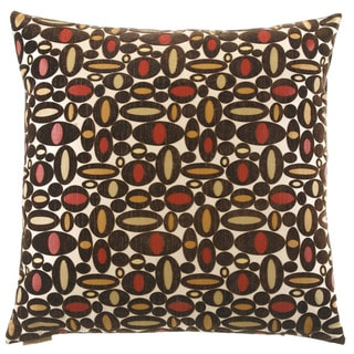 Centric Decorative 24-inch Feather and Down Filled Throw Pillow