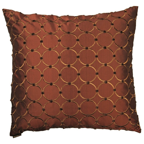 Domain Feather Filled Decorative Pillow : Caprica Decorative 24-inch Feather and Down Filled Throw Pillow - Free Shipping Today ...