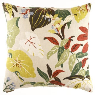 Fabriano Decorative 24-inch Feather and Down Filled Throw Pillow