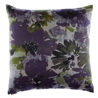 Spring Meadow Decorative 24-inch Feather and Down Filled Throw Pillow