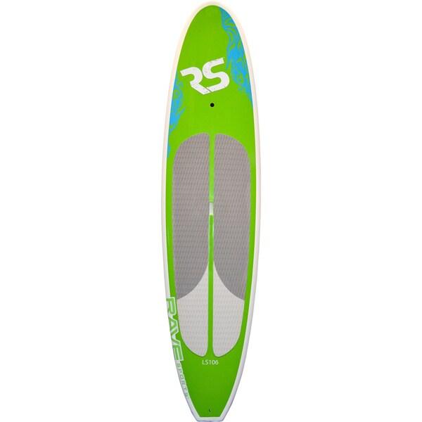 RAVE Lake Cruiser 10-foot 6-inch SUP Green Standing Board