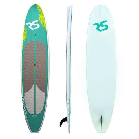 RAVE Lake Cruiser 11-foot 6-inch SUP Teal Standing Paddleboard