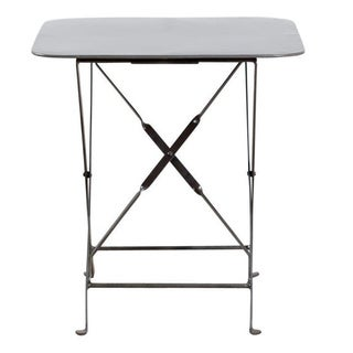 Industrial Folding Utility Side Table