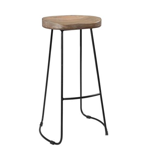 """Handmade CG Sparks Iconic Tractor Seat 29"""" High Bar Stool (India)"""