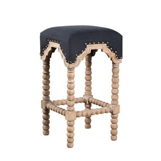 Handmade Eastern-Influenced Arch Stool (India)
