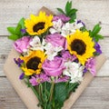 The Bouqs Volcano Collection 'Marvelous' Original Mixed Bouquet