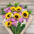 The Bouqs Volcano Collection 'Marvelous' Deluxe Mixed Bouquet