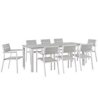 Oliver & James Price 9-piece Outdoor Patio Set (2 options available)