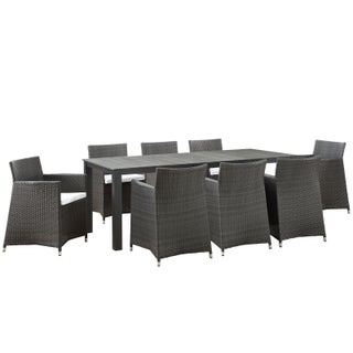 Juncture 9-piece Outdoor Patio Dining Set (2 options available)