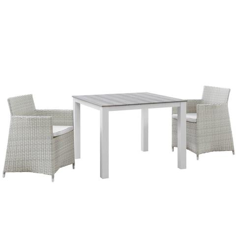 Juncture 3-piece Outdoor Patio Wicker Dining Set