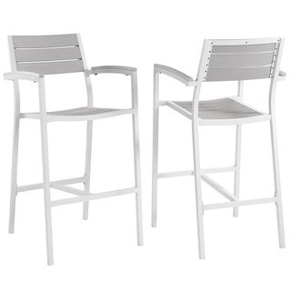 Main Bar Stool 2-piece Indoor/ Outdoor Patio Set (2 options available)