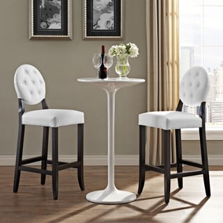 Button Bar Stools (Set of 2)