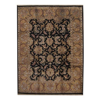 Herat Oriental Indo Hand-knotted Mahal Wool Rug (9'1 x 12'1)