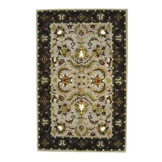 Herat Oriental Indo Hand-tufted Mahal Wool Rug (5' x 7'9)