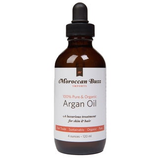 Moroccan Buzz Organic 4-ounce Fair-trade Moroccan Argan Oil (Morocco)