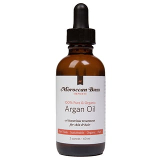 Moroccan Buzz Organic 2-ounce Fair-trade Moroccan Argan Oil (Morocco)