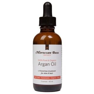 Handmade Moroccan Buzz Organic 2-ounce Fair-trade Moroccan Argan Oil (Morocco)