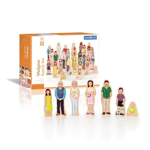 Guidecraft Wedgies Family Set