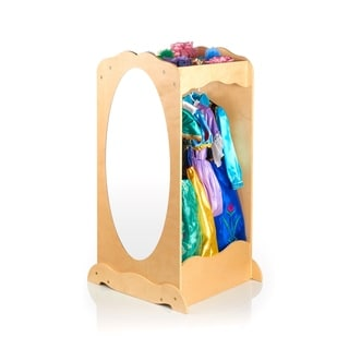 Guidecraft Natural Dress Up Cubby Center